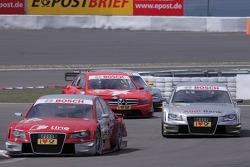 Mike Rockenfeller, Audi Sport Team Phoenix Audi A4 DTM and Miguel Molina Audi Sport Team Abt Audi A4 DTM