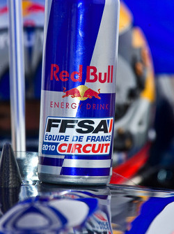 Jean-Eric Vergne's drinks bottle