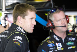 Carl Edwards, Roush Fenway Racing Ford and Bob Osborne