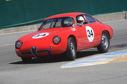 Jeff Hill, 1962 Alfa Romeo Giulietta SZ