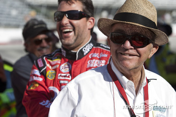 Tony Stewart, Stewart-Haas Racing Chevrolet with Jack Roush