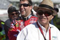Tony Stewart, Stewart-Haas Racing Chevrolet with Jack Roush
