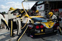 Pitstop #3 Corvette Racing Chevrolet Corvette ZR1: Jan Magnussen, Johnny O'Connell