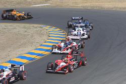 Ryan Briscoe, Team Penske, Ryan Hunter-Reay, Andretti Autosport