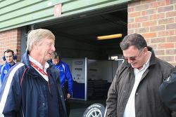 Neil Brown (VW engine preparer) and Glenn Waters reminisce