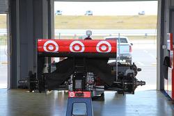 Team Penske garage area