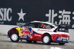 Sébastien Ogier and Julien Ingrassia, Citroën C4 WRC, Citroën Junior Team