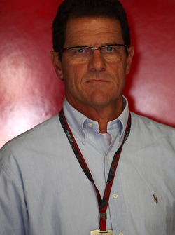 Fabio Capello, England Football team manager