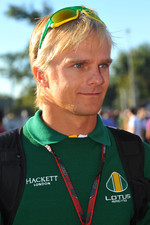 Heikki Kovalainen, Lotus F1 Team