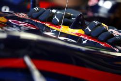 The gloves of Mark Webber, Red Bull Racing