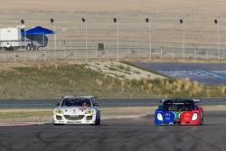 #69 SpeedSource Mazda RX-8: Emil Assentato, Jeff Segal, #77 Doran Racing Ford Dallara: Matt Bell, Dion von Moltke