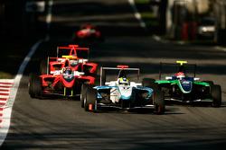 Felipe Guimaraes leads Ivan Lukashevich and Stefano Coletti