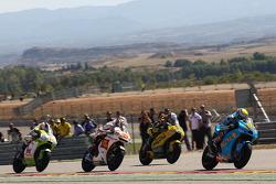 Alvaro Bautista, Rizla Suzuki MotoGP, Hector Barbera, Paginas Amarillas Aspar, Marco Melandri, San Carlo Honda Gresini