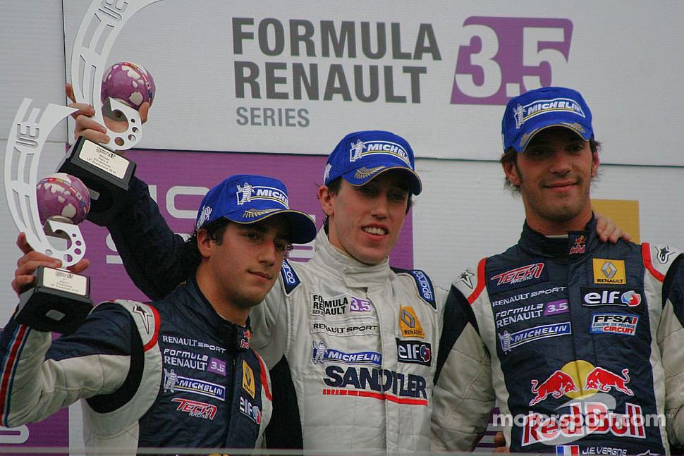 Daniel Ricciardo, Esteban Guerrieri, Jean-Eric Vergne