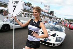 A lovely Tourist trophy grid girl