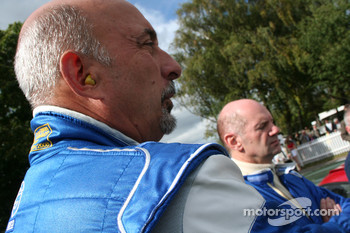 Adrian Newey and Bobby Rahal