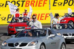 Drivers parade: David Coulthard, Mücke Motorsport