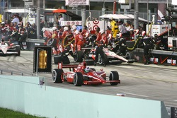 Dario Franchitti, Target Chip Ganassi Racing beats out Will Power, Team Penske