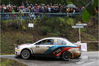 Armindo Araujo and Miguel Ramalho and Mitsubishi Lancer Evo X, Ralliart Italy