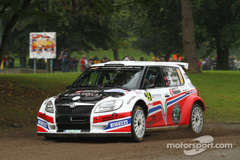 Eyvind Brynildsen and Cato Menkerud, Skoda Fabia S2000