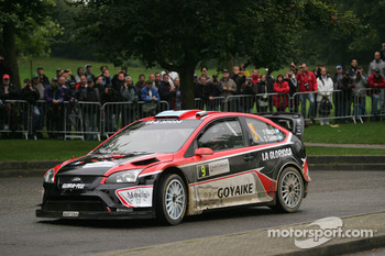 Federico Villagra and Jorge Perez Companc, Ford Focus RS WRC08, Munchi's Ford World Rally Team