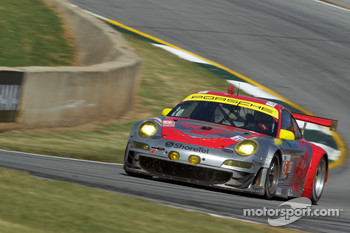 #45 Flying Lizard Motorsports Porsche 911 GT3 RSR: Jrg Bergmeister, Patrick Long, Marc Lieb