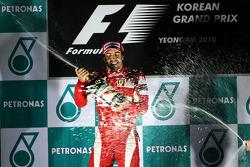 Podium: race winner place Fernando Alonso, Scuderia Ferrari