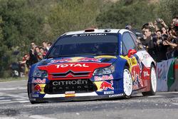 Daniel Sordo and Diego Vallejo, Citroën C4 Citroën Total World Rally Team