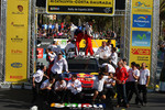 Podium: winners Sbastien Loeb and Daniel Elena, Citron C4, Citron Total World Rally Team