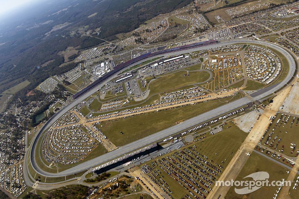 Aerial View Of Talladega Superspeedway Nascar Sprint Cup