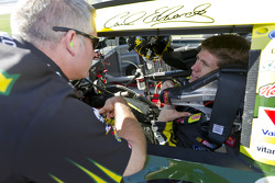 Carl Edwards, Roush Fenway Racing Ford with crew chief Bob Osborne