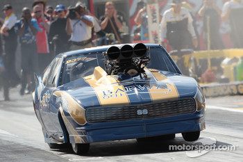 2010 Pro Mod Champion Von Smith, 1968 Blown Chevrolet Corvette