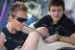 Max Chilton and Fabio Leimer