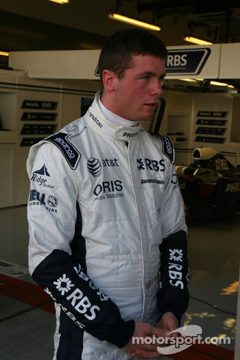 Dean Stoneman, Williams F1 Team