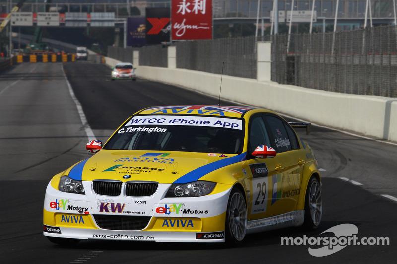Colin Turkington Ebay Motors Bmw 320si Op Macau Wtcc Foto 39 S