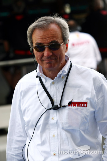 Maurizio Boiocchi, Pirelli R&D director