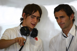 Esteban Gutierrez, BMW Sauber F1 Team and Pedro de la Rosa
