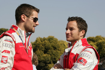 Martin Tomczyk, Audi Sport Team Abt Audi A4 DTM and Timo Scheider, Audi Sport Team Abt Audi A4 DTM