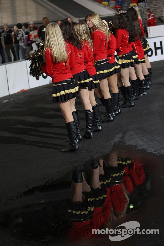 Race of Champions girls