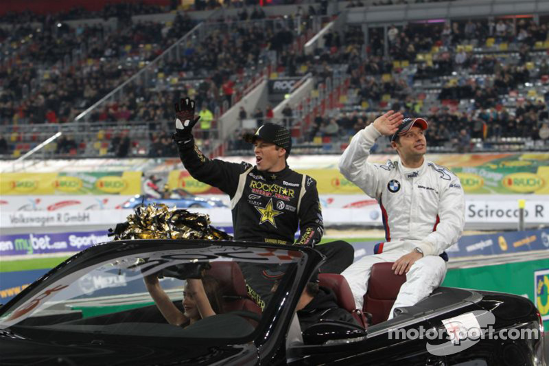 Tanner Foust and Andy Priaulx