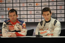 Press conference: Race of Champions winner Filipe Albuquerque, second place Sébastien Loeb