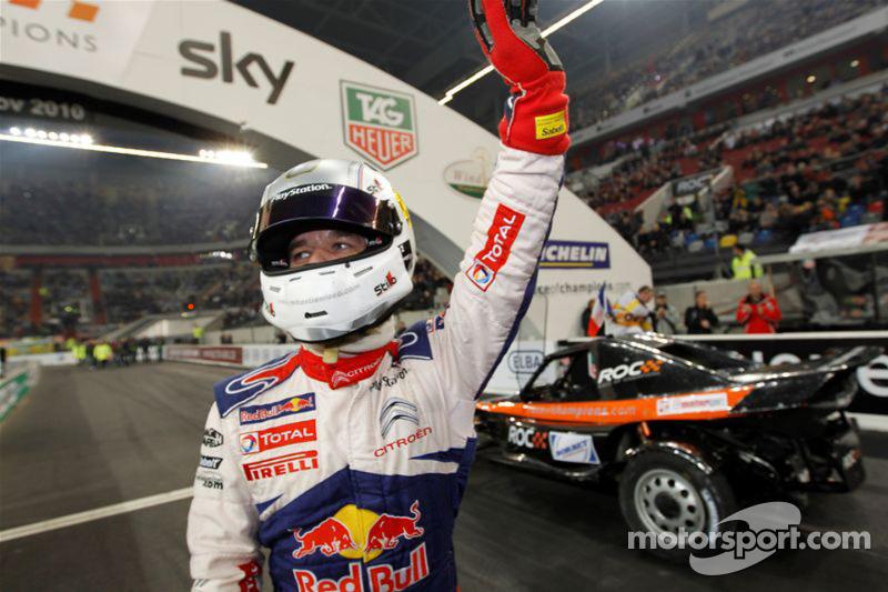 Second place Sébastien Loeb
