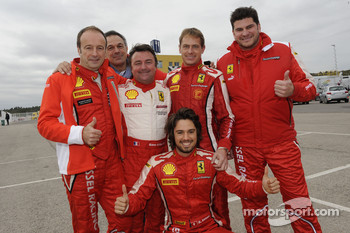 René Arnoux and Kessel team drivers