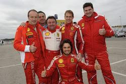 René Arnoux and Kessel team drivers