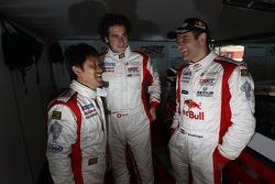 Seiji Ara, Henri Moser and Karl Wendlinger