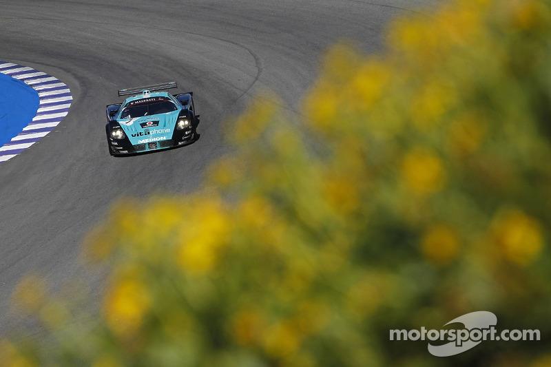 #1 Vitaphone Racing Team Maserati MC12: Michael Bartels, Andrea Bertolini