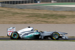 Nico Rosberg, Mercedes GP F1 Team, MGP W02