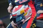 Sebastien Buemi, Scuderia Toro Rosso helmet