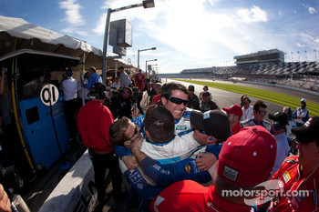 Winning celebrations at Chip Ganassi Racing