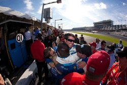 Winning celebrations at Chip Ganassi Racing